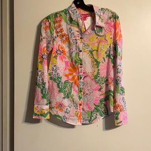 Lilly Pulitzer Long Sleeve button shirt